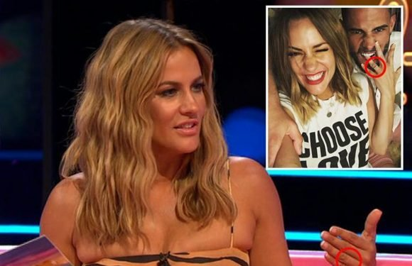 Caroline Flack ditches her engagement ring on Love Island Aftersun following split from ex-fiance Andrew Brady