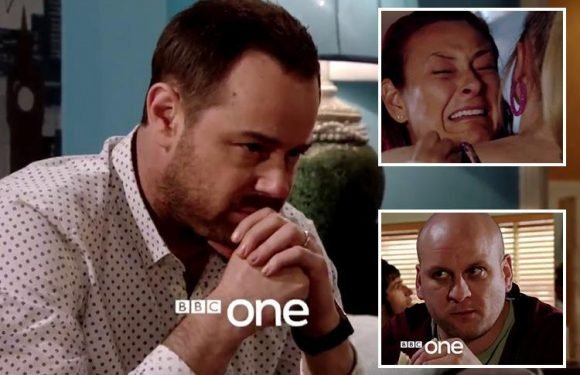 Explosive EastEnders trailer reveals Mick Carter plotting revenge on evil Stuart Highway for abusing his sister