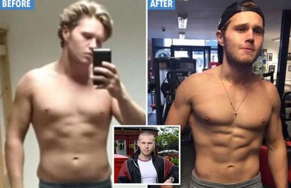 EastEnders star Danny Walters reveals dramatic body transformation from 'dad bod' to six pack and 'finally feels confident'