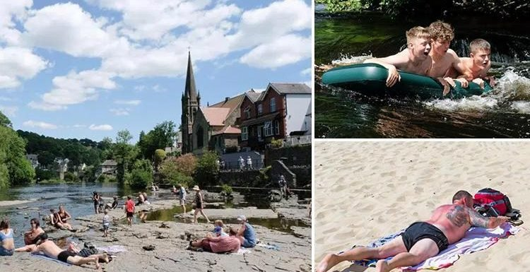 Brits bake in longest heatwave for FIVE YEARS but cooler temperatures to come this week