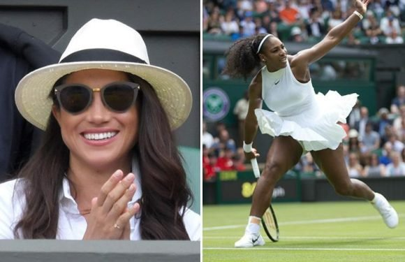 When is Meghan Markle attending Wimbledon 2018 and how did she become friends with Serena Williams?