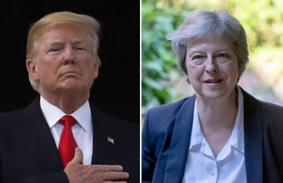 Theresa May must announce a hike in defence spending to show Donald Trump we are backing Nato, report claims