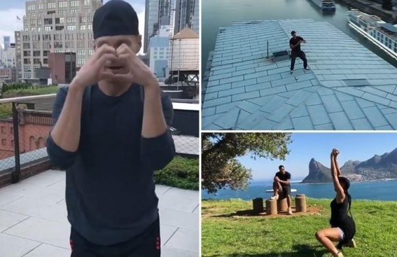 Will Smith, Ciara and Ryan Seacrest 'do the Shiggy' as celebs take on the viral dance craze
