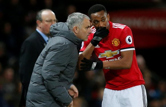 Manchester United to cling onto Anthony Martial… because Jose Mourinho still believes he can be a star