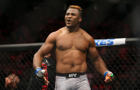 UFC star Francis Ngannou went from sleeping on the streets of Paris to fighting in the UFC
