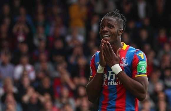 Wilfried Zaha leaves Crystal Palace pre-season training camp to deal with 'family matter'