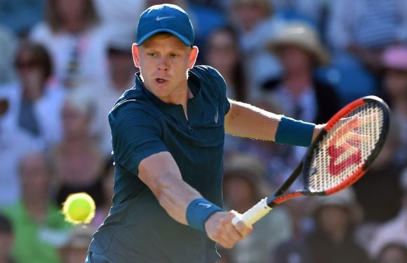 Wimbledon hope Kyle Edmund, fresh from beating Andy Murray, has ambitions of becoming world No1
