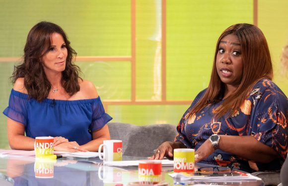 Chizzy Akudolu breaks down over her addiction to eating and shopping on Loose Women