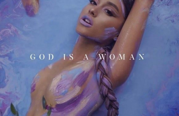 Ariana Grande goes topless in nothing but body paint for cover of new single God Is A Woman