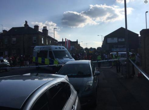 Huddersfield 'shooting' – armed cops seal off festival amid reports of gunshots sparking panic during city's carnival celebrations