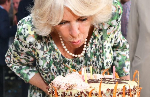 Camilla Parker Bowles celebrates her 71st birthday with cake from local baker during trip to the Isles of Scilly