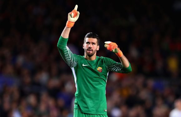 Alisson undergoing Liverpool medical with £66.8m deal to be announced imminently