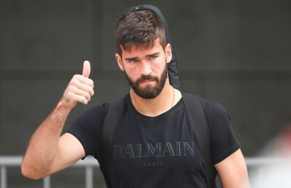 Liverpool sign Alisson in world-record £67million deal after keeper puts pen to paper on a five-year deal