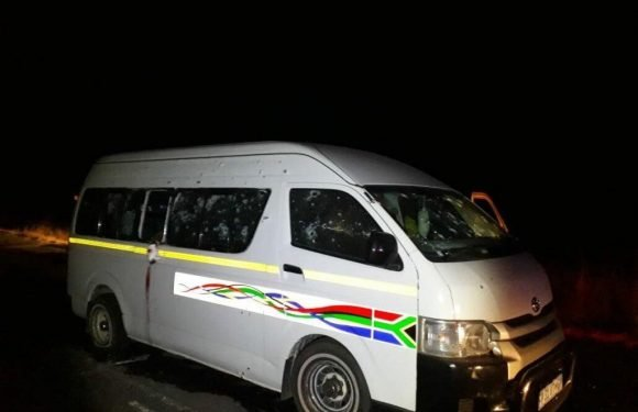 Eleven South African cabbies shot dead in minibus ambush over 'taxi turf war'
