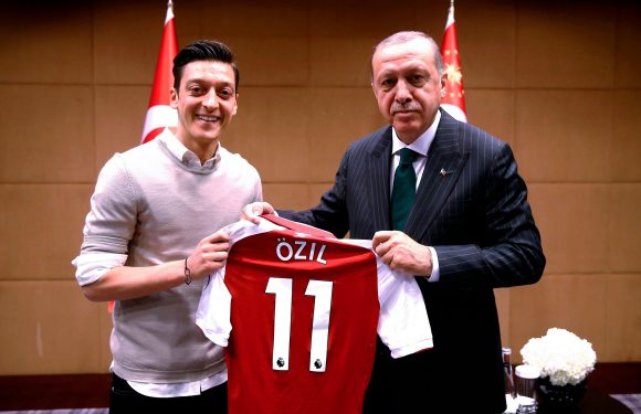 Germany ace Mesut Ozil retires from international football after fan backlash over Turkish president Recep Tayyip Erdogan picture