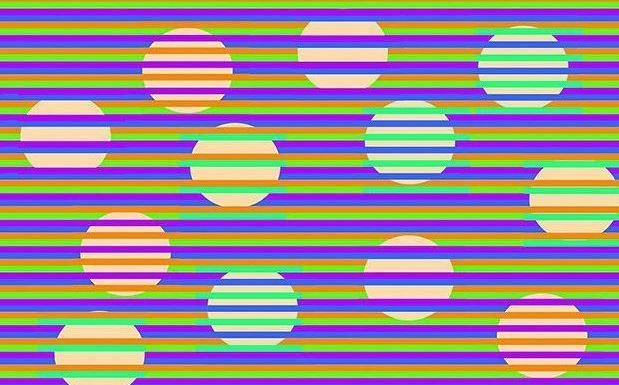 Baffling optical illusion goes viral – but what colour do YOU see these circles (it's probably wrong)