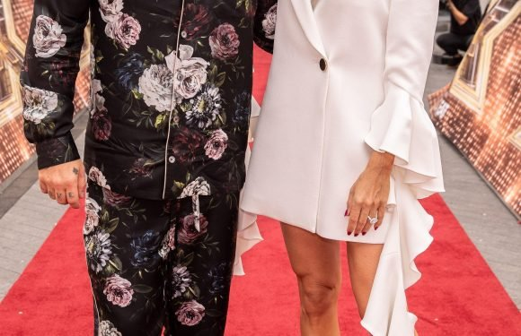 Robbie Williams jokes that he's 'ready to re-couple' after heated banter with wife Ayda on X Factor judging panel