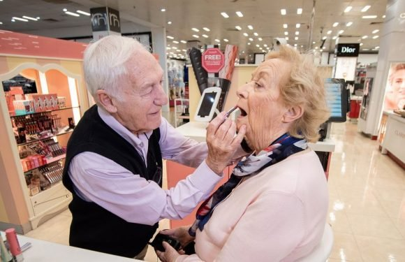 """I'm learning to put on my wife's make-up on because she is going blind"""