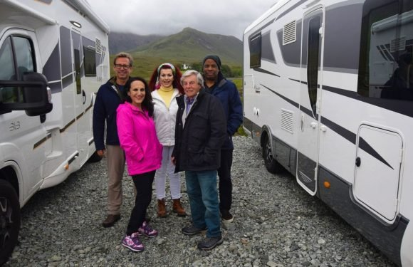 Ian Hyland is amused by Celebrity Five Go Caravanning despite low-rent 'celebs'