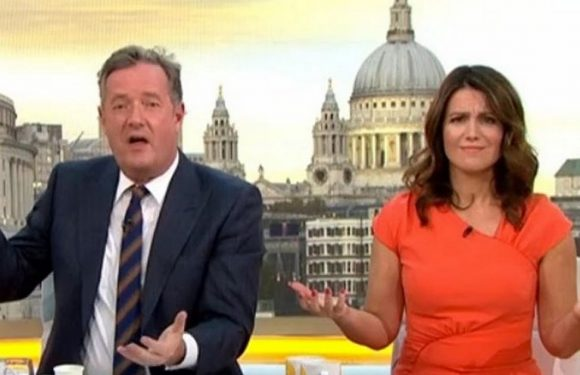 Piers Morgan threatens to brutally torture GMB co-host after offensive pill joke