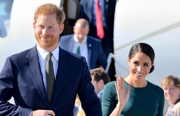Prince Harry, Meghan Markle Arrive in Ireland