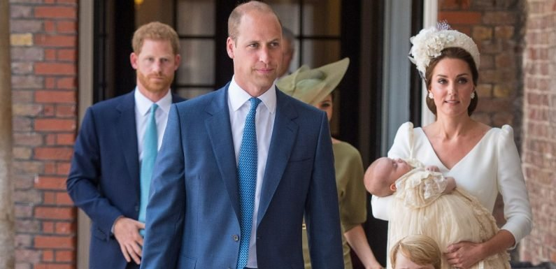 What the royals wore to celebrate Prince Louis' christening