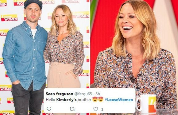 Loose Women fans go wild for Kimberley Walsh's hot brother Adam