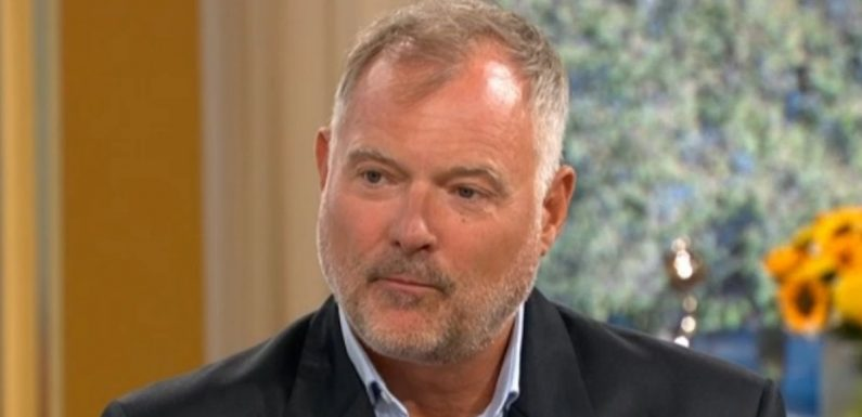 John Leslie says he became 'target' for sex allegations on This Morning return