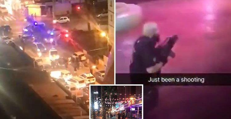 Benidorm shooting – witnesses reveal moment Brit tourist is shot in bum outside Hippodrome nightclub in gangland crossfire before being carried to safety
