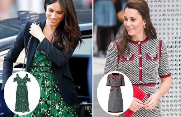 You can get Kate Middleton and Meghan Markle dresses for less and they are seriously similar – will you be buying the lookalike Self-Portrait dress?
