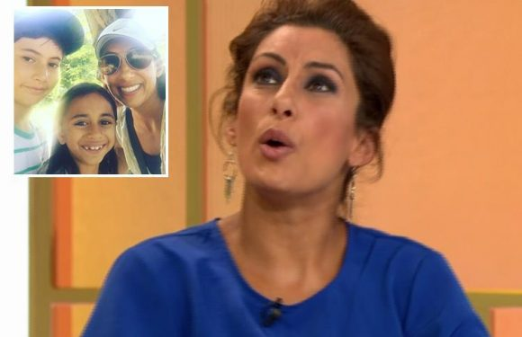 Saira Khan admits she forgot she had a baby and left her under a table in a hotel for an hour as she went for a swim