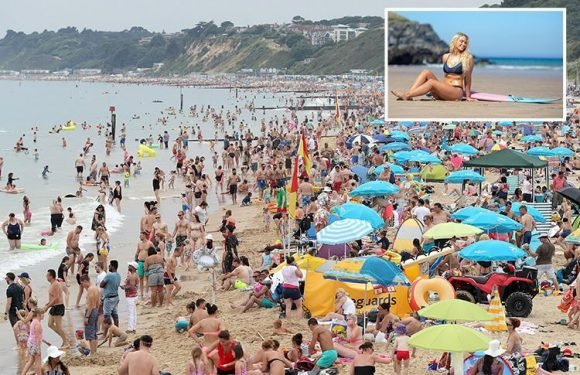 UK heatwave to last another MONTH as Britain bakes in 30C as thunderstorms hit