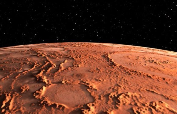 Mars Was Once Whipped By Heavy Rainfall, Which Carved Valleys In The Martian Surface 3.8 Billion Years Ago