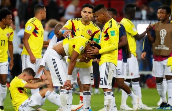 Colombia players receive death threats after losing to England
