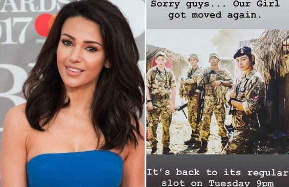 Michelle Keegan forced to apologise to angry fans after BBC cancels Our Girl again – this time for Wimbledon