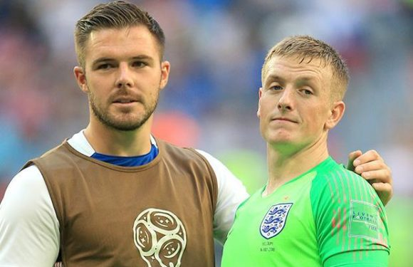 Chelsea eyeing up England keepers Jordan Pickford and Jack Butland… should Thibaut Courtois join Real Madrid