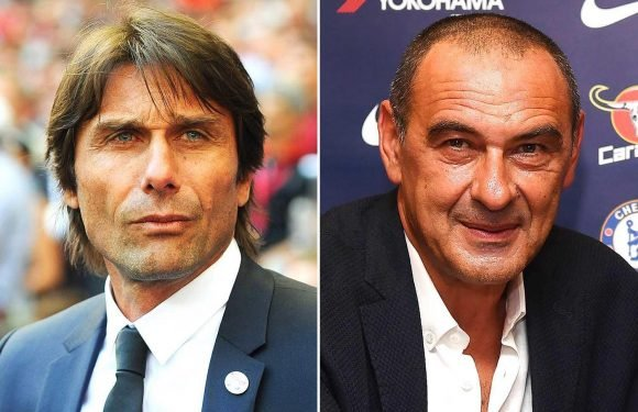 Antonio Conte gives classy first statement since being axed for Maurizio Sarri despite Blues' goodbye snub
