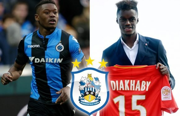 Huddersfield close on Monaco striker Adama Diakhaby and Club Brugge winger Anthony Limbombe in £18m double swoop