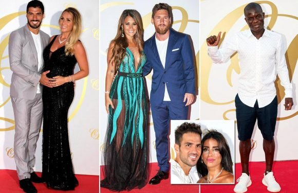 Lionel Messi, Luis Suarez, N'Golo Kante… the best XI of guests from Cesc Fabregas' glitzy Ibiza bash
