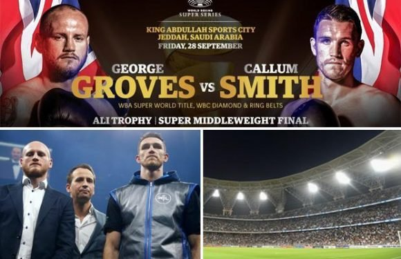 George Groves to fight Callum Smith in World Boxing Super Series final in Saudi Arabia on 28 September