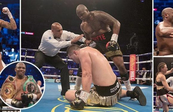 The best snaps from Dillian Whyte vs Joseph Parker and Dereck Chisora's stunning victory over Carlos Takam