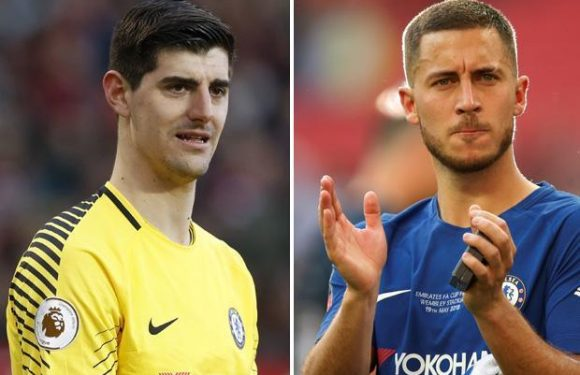 Eden Hazard's Real Madrid move in tatters with Thibaut Courtois their only Chelsea interest