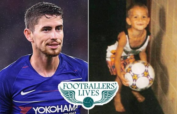 Chelsea's £57.4million midfielder Jorginho was taught to play by his mum on the beaches of Brazil before being sold to a football factory