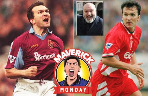 Neil Ruddock: The cheeky Londoner went from starring for Spurs, West Ham and Liverpool to getting top billing on reality TV