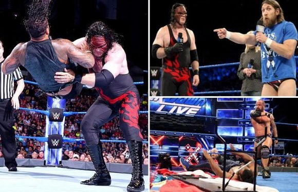 WWE SmackDown Live: Daniel Bryan and Kane put Team Hell No back on the map and Shinsuke Nakamura faces Jeff Hardy at Extreme Rules