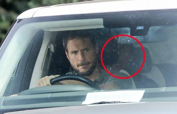 Antonio Conte driven away from Cobham by Carlo Cudicini after being sacked by Chelsea as Maurizio Sarri gets set to replace him