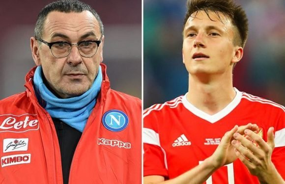 Chelsea to appoint Maurizio Sarri this week and push through £27m deal for Russia star Aleksandr Golovin