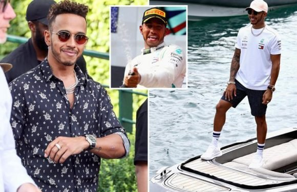 Lewis Hamilton to end Mercedes exit talk with incredible £40m-a-year deal with F1 champs