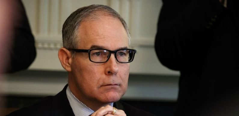 Scott Pruitt Is The Latest Trump Administration Official To Be Confronted By Protester At A Restaurant