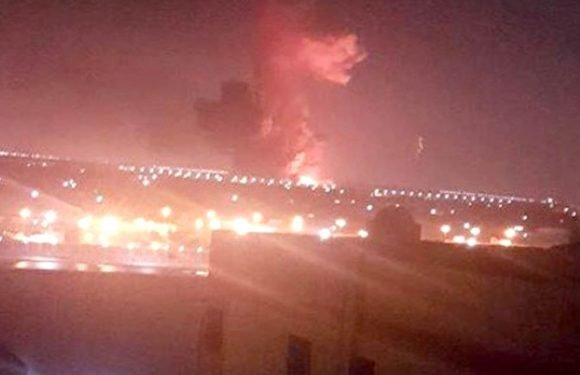 Cairo Airport flights suspended after two fuel tanks erupted into huge fireball